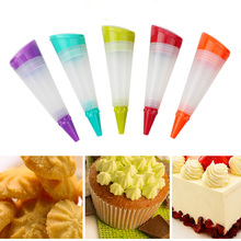 Silikonowy deser dekoratorów ciasto Cupcake dekoracyjne długopis oblodzenie rurociągi garnitur ciasto dekorowanie narzędzia
