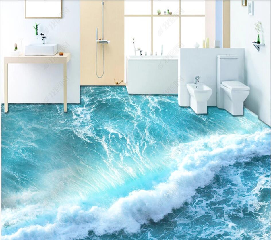 Wallpaper Murals For Bathrooms Cheap For All In House Products 3d Wallpaper Floor Bathroom In