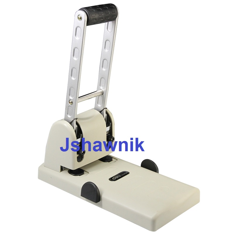 2holes heavy hole puncher double hole puncher stationery voucher binding machine free shipping office school hole puncher round double hole binding manual drilling machine fashion portable mini easy to use