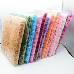 144 шт./пакет Искусственные цветы мини PE многоцветный поддельные пены Роза Дешевые Рождество венок Декор для дома Свадебные diy подарки на