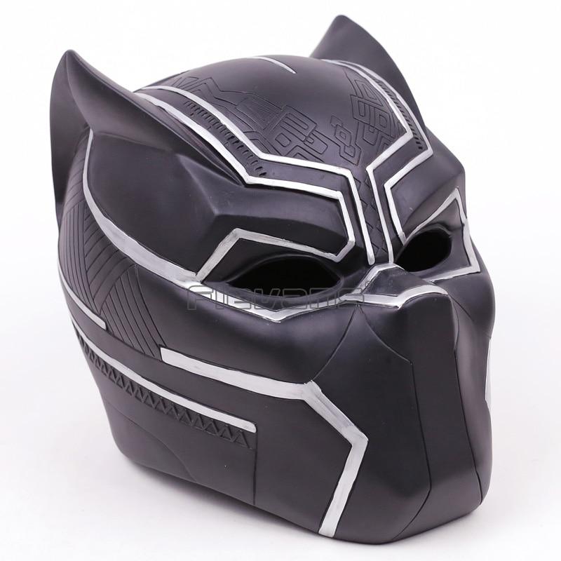 Avengers 3Infinity War Black Panther Cosplay Helmet 1:1 Scale Super Hero Cosplay Helmet Model Toy cosplay