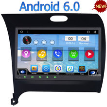 3G 4G WIFI Android 6.0 9″ Quad-Core DAB RDS USB BT AUX FM Car DVD Multimedia Player Radio For Kia Forte Cerato K3 LHD 2013-2017