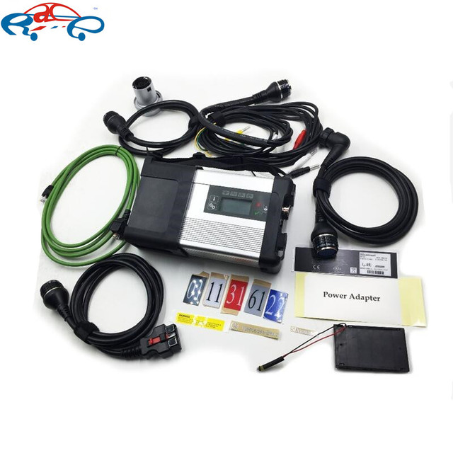 2018 New MB Star C5 sd connect For MB diagnostic tool MB sd connect c5 with wifi For car & Truck diagnosis One year warranty