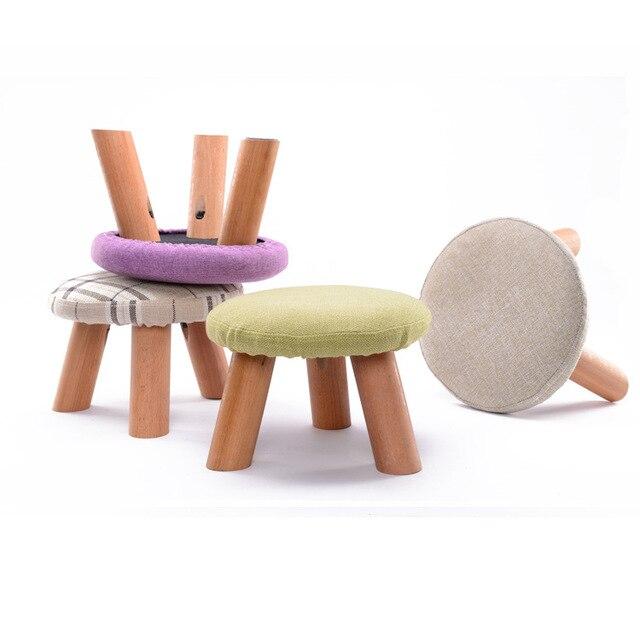 Té de madera sólida mesa taburete creatividad de los niños zapatos ...