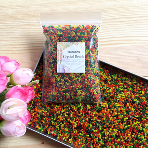 Image 3 - JIMITU 10000 teile/beutel Kristall Boden Hydrogel Gel Polymer Orbiz Wasser Perlen Blume/Hochzeit/Dekoration Maison Wachsenden Wasser Bälle