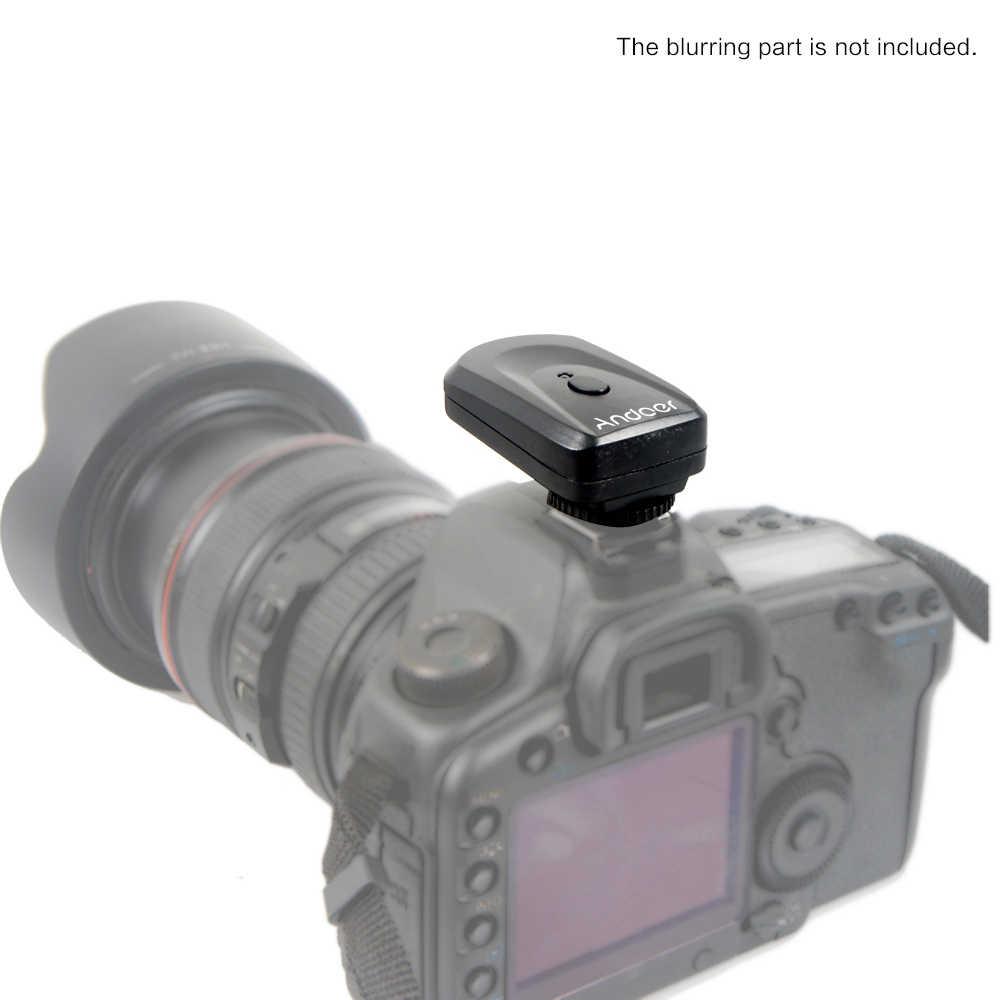 Andoer универсальный 16 радиоканалы Беспроводной удаленный флэш ускоренный триггер для Canon Nikon Sigma Olympus Pentax высокого качества