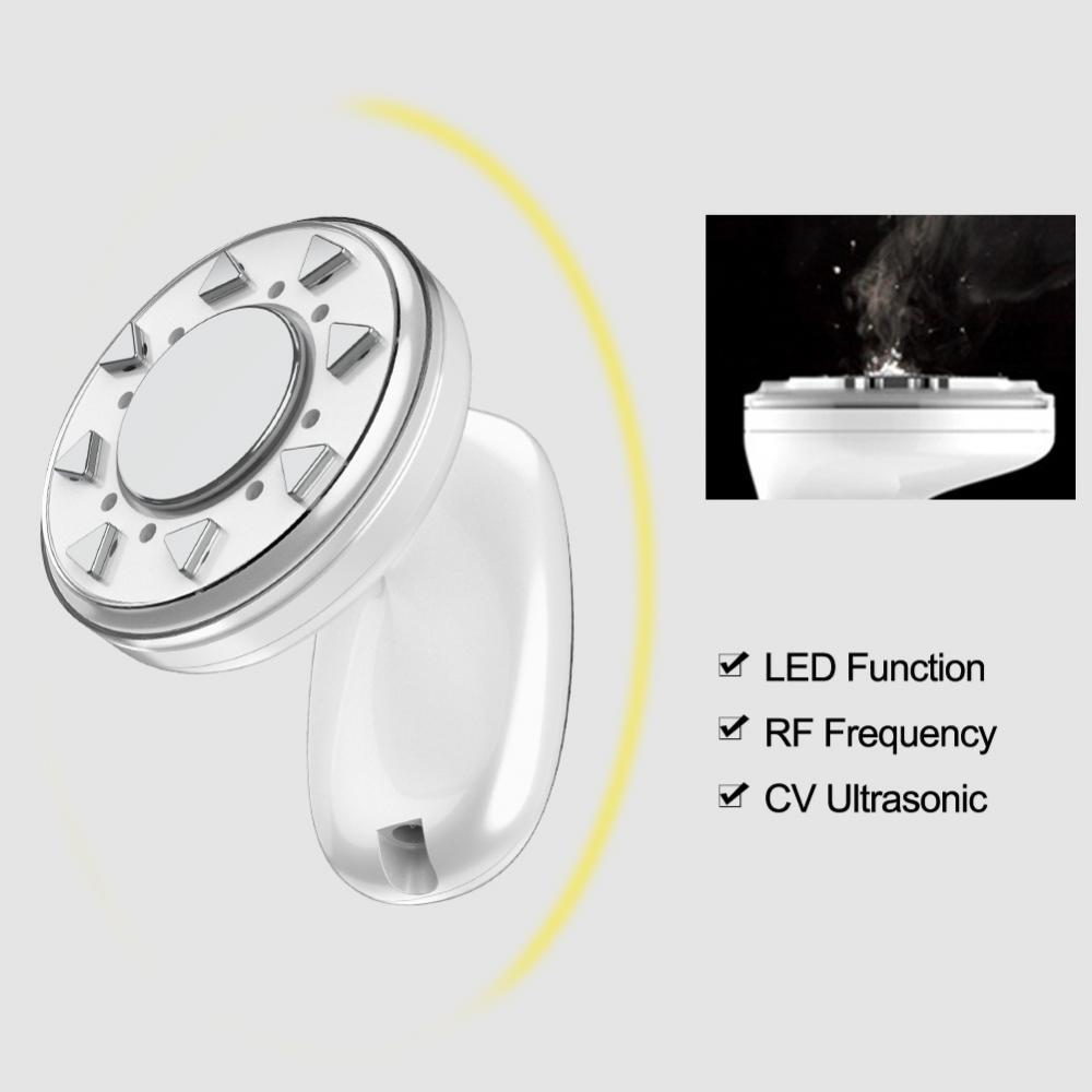 RF Radio Frequency Face Body Slimming Machine Ultrasonic Light Therapy Anti Wrinkles Skin Tighten RF Waist
