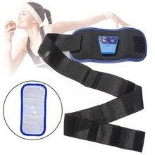 New AB Gymnic Electronic Body Muscle Arm leg Waist Abdominal Massage Sports Belt