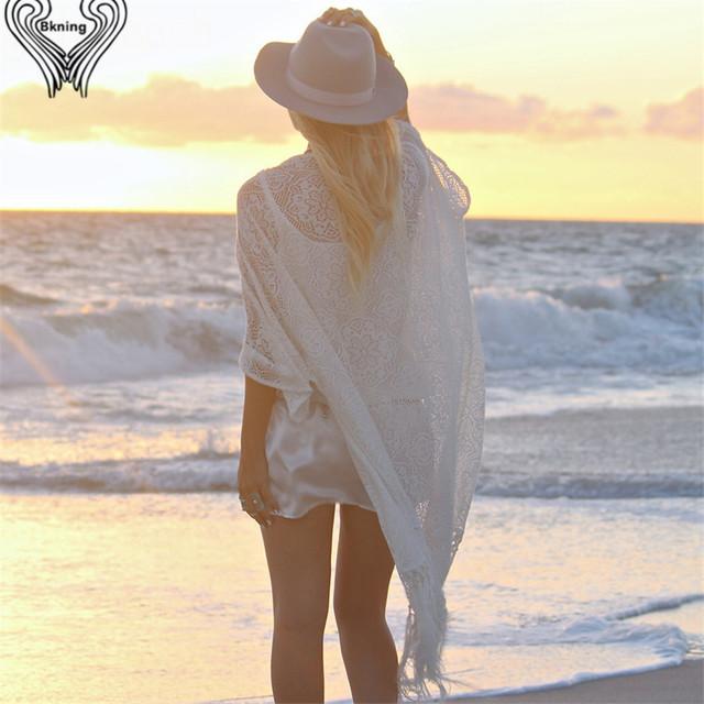 kaftan beach lace bikini cover up long beach pareo robe de plage women 2017 summer saida de praia Beach tunic beachwear h386