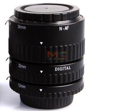Mise au point automatique du Tube d'extension AF Meike mise au point automatique pour appareil photo Nikon D-SLR