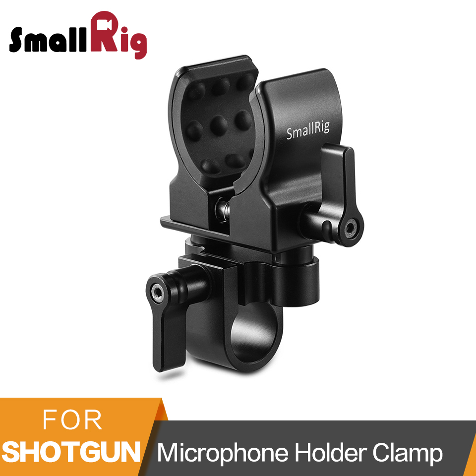 SmallRig Universal Microphone Holder Clamp DSLR Camera For Shot gun Microphone Mount Clamp- 1993