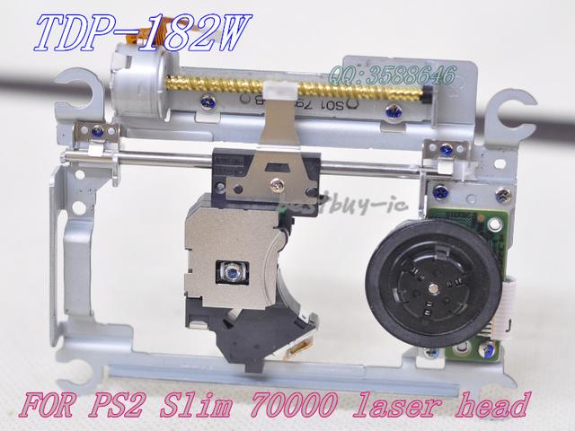 Envío libre LASER PVR-802W/PVR802W Para PS2 Slim 70000 del lente óptico