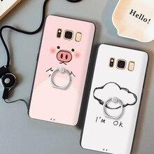 Gview 3D рельеф печати Мягкие TPU + жесткий чехол для Samsung Galaxy S8 антидетонационных телефон Сумка Fundas для Samsung S8 плюс