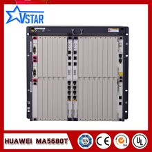 Huawei original OLT MA5680T GPON/EPON in Fiber Optic Equipment with SCUN*2 GICF*2 PRTE*2 GPBD