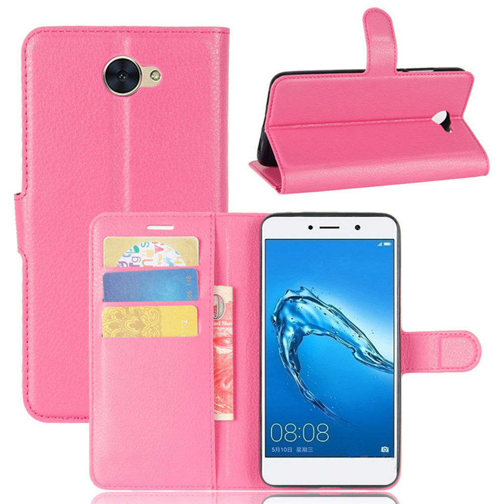 US $3 37 15% OFF|Luxury Leather Flip Case For Huawei Ascend XT2 + Card  Holder Wallet Back Kickstand Leather Cover For Huawei Ascend XT2/Elate  4G-in