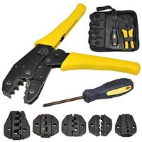 Electrical Terminal Ratchet Crimping Crimper Auto Electrician Tool|Pliers|Tools -