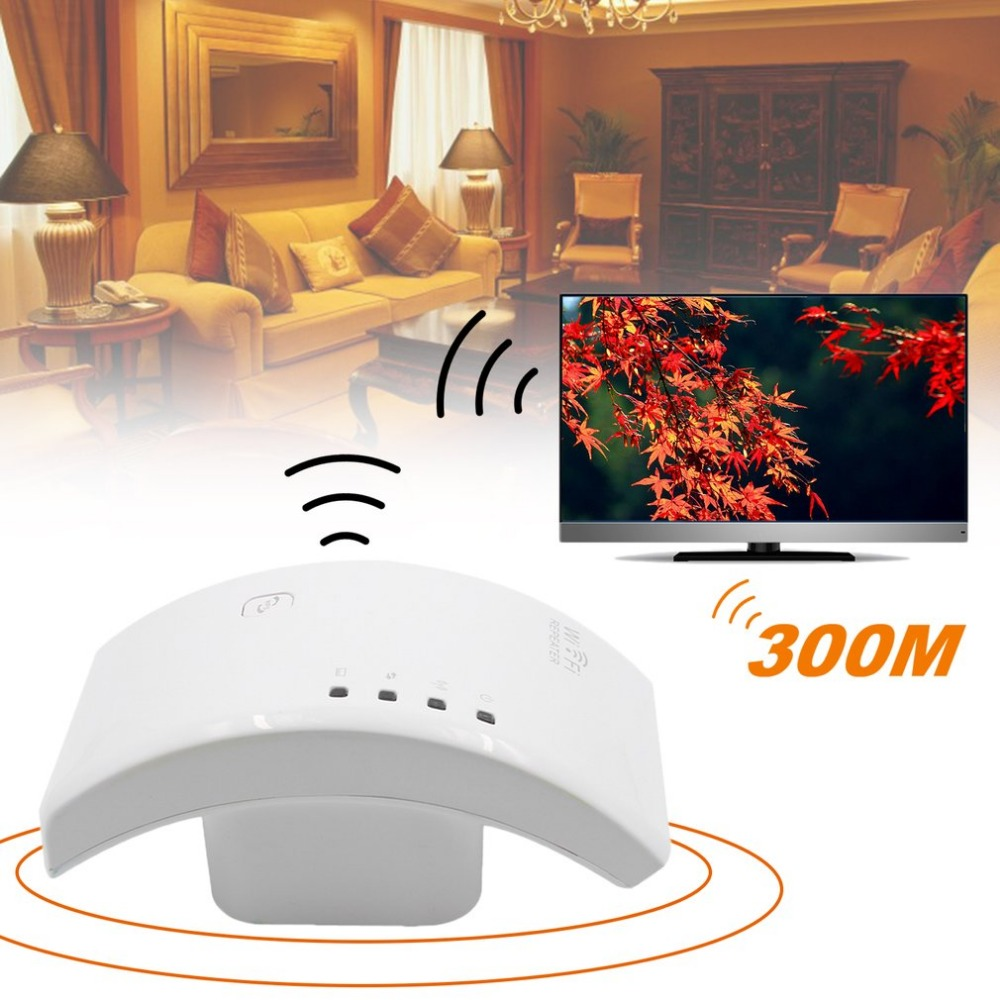 ZB66 300Mbps Wireless WIFI Repeater WIFI Router Computer Networking Range Expander Roteador WIFI Signal Booster Curve Shape