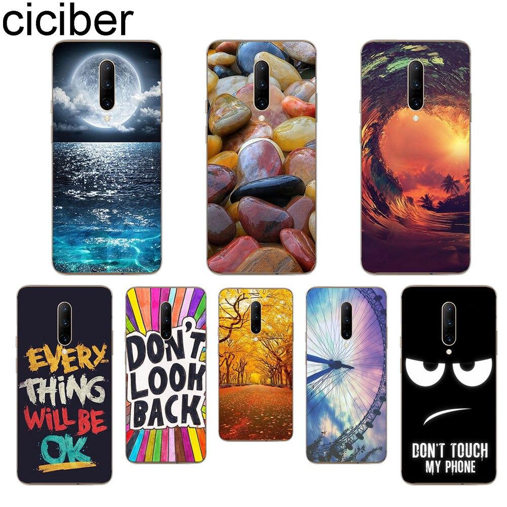 ciciber Sky Sea Moon Phone Case For font b Oneplus b font font b 7 b