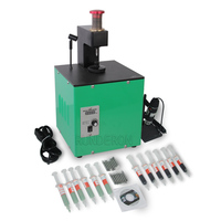 Diesel Fuel CRI Common Rail Injector Valve Cap Repair Grinding Tool Kit for BOSCH 0445 110 / 120 Series Injection