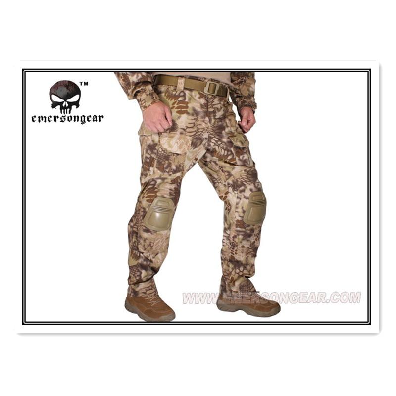 Emerson G3 Tactical bdu G3 Combat Pants Emerson BDU Military Army Pants Kryptek Highlander EM7047 g3 combat pants wolf grey 3d urban tactical combat pants teflon coating free shipping stg050796
