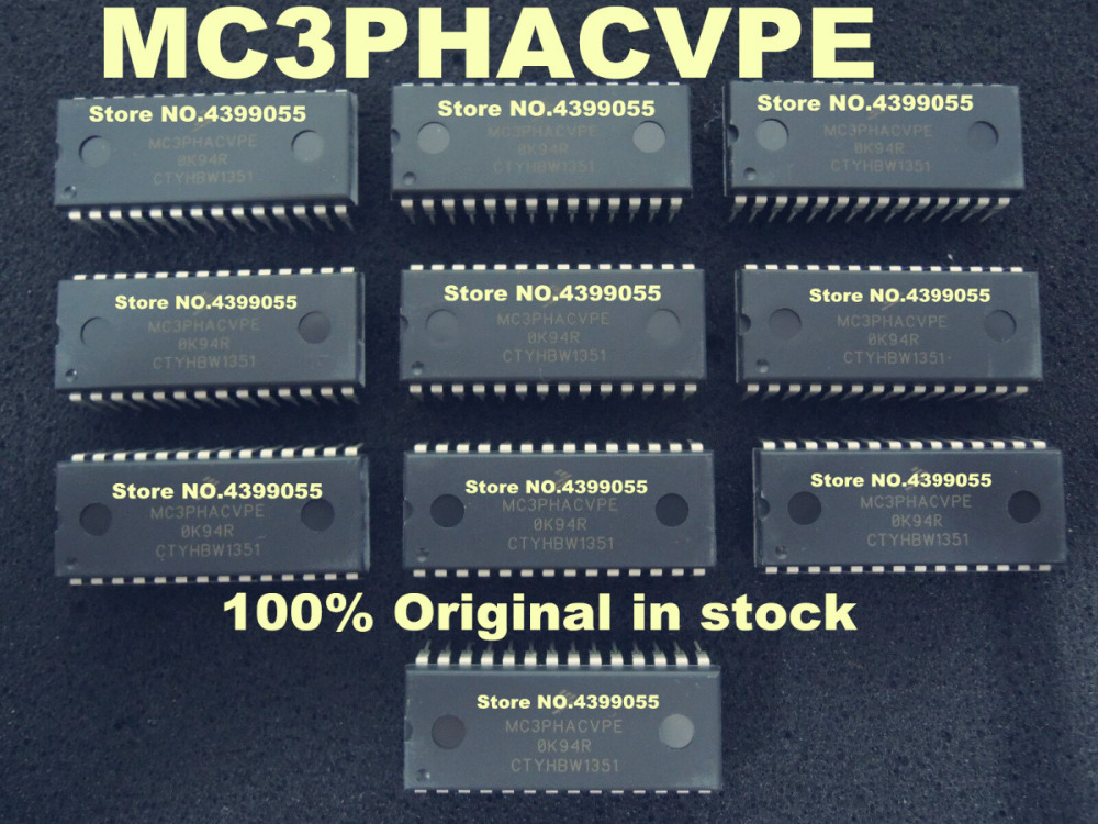 2PCS 10PCS Original new MC3PHACVPE MC3PHAC MC3PHACVP DIP 28