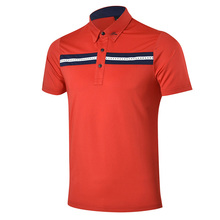 2017 New Golf clothing high-quality golf Shirt Short Sleeved POLO shirt men's summer Quick Dry breathable golf T shirt