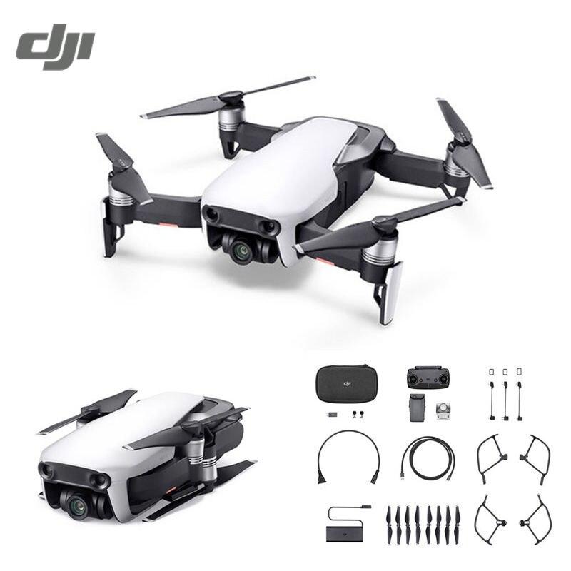 DJI Мавик Air 4 км FPV w/3-осное камера 4k 32MP Sphere панорамы RC гоночный Drone Складная Quadcopter комбо VS Spark
