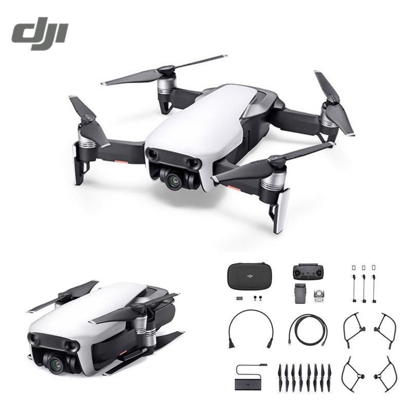 DJI Mavic aire 4 km FPV W/3 eje cardán 4 K Cámara 32mp esfera panoramas RC Racing drone plegable quadcopter Combo vs chispa