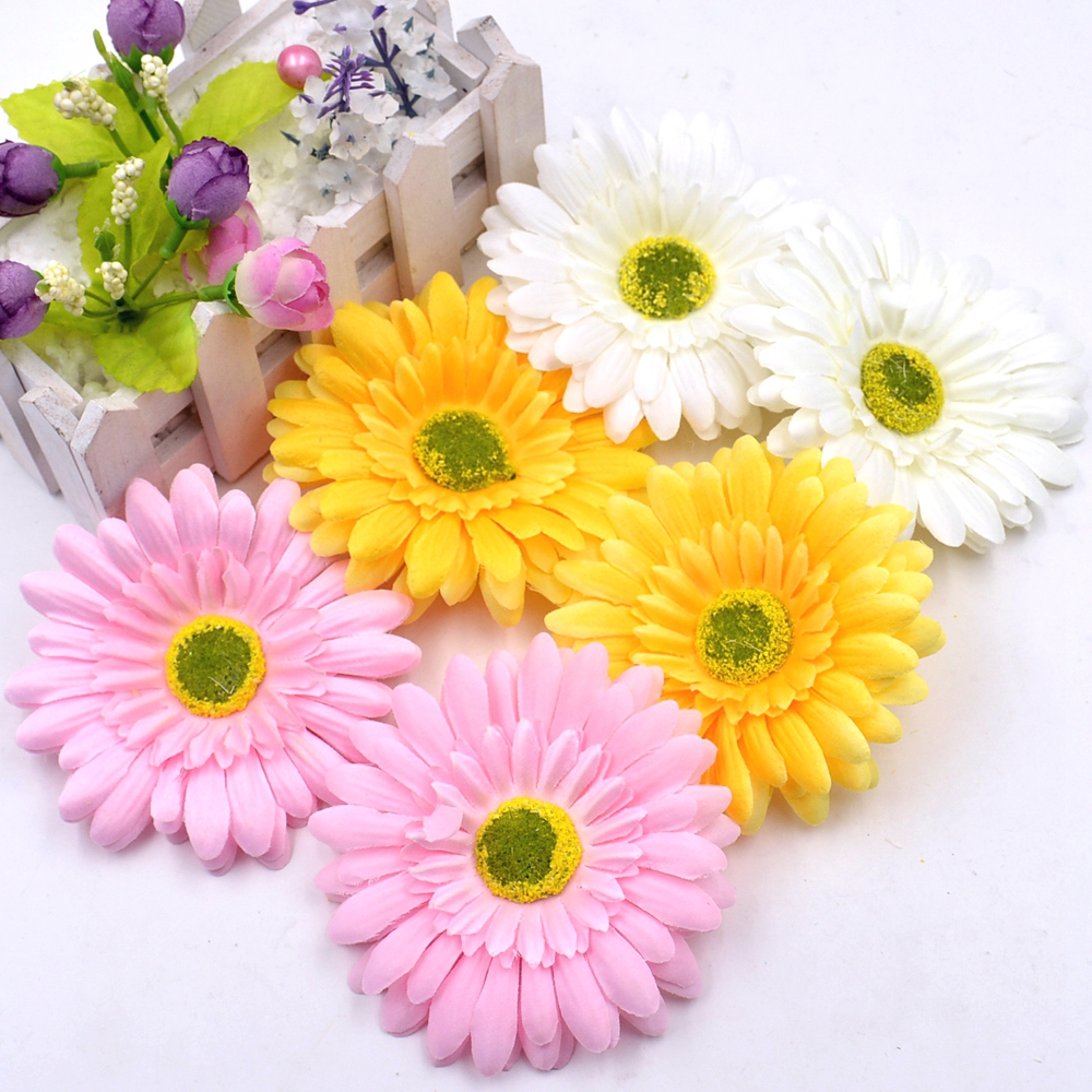 5pcs Silk Sunflower Sun Flower Wedding Home Decoration Artificial