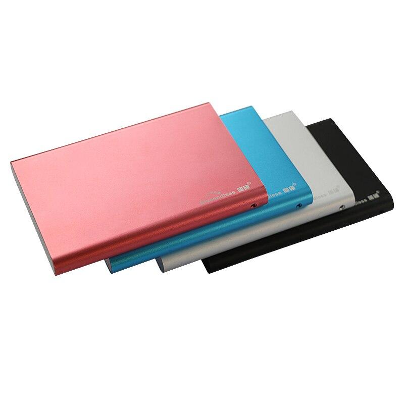 Disco duro externo de 2,5 pulgadas sata caso de aluminio Disco Duro hdd sata II usb 3,0 hdd caja de 2 TB Disco Duro U23S