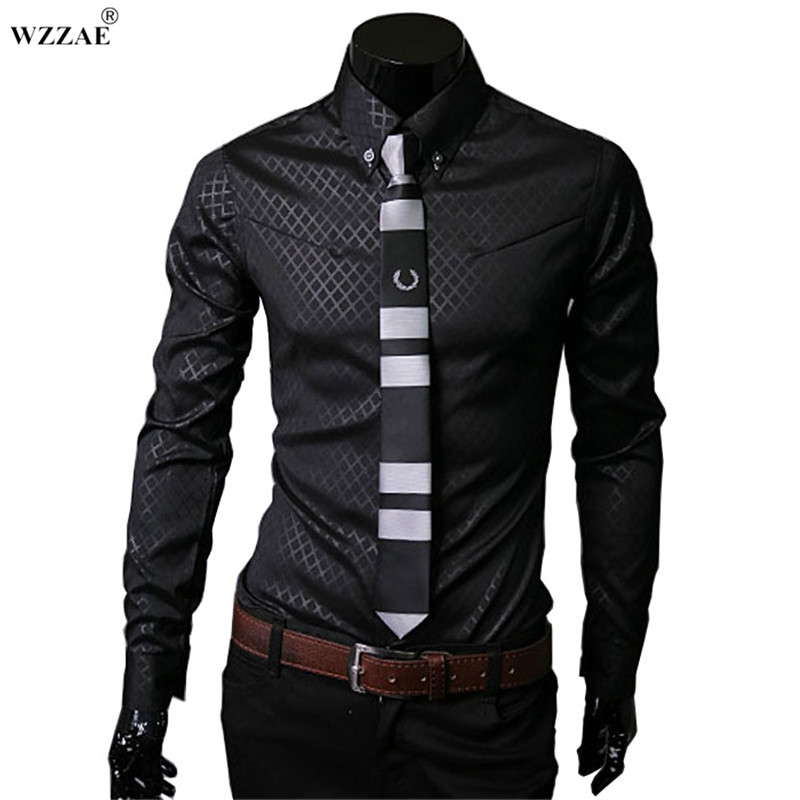 Buy wzzae 2017 new arrive brand new top for Best place to buy mens dress shirts