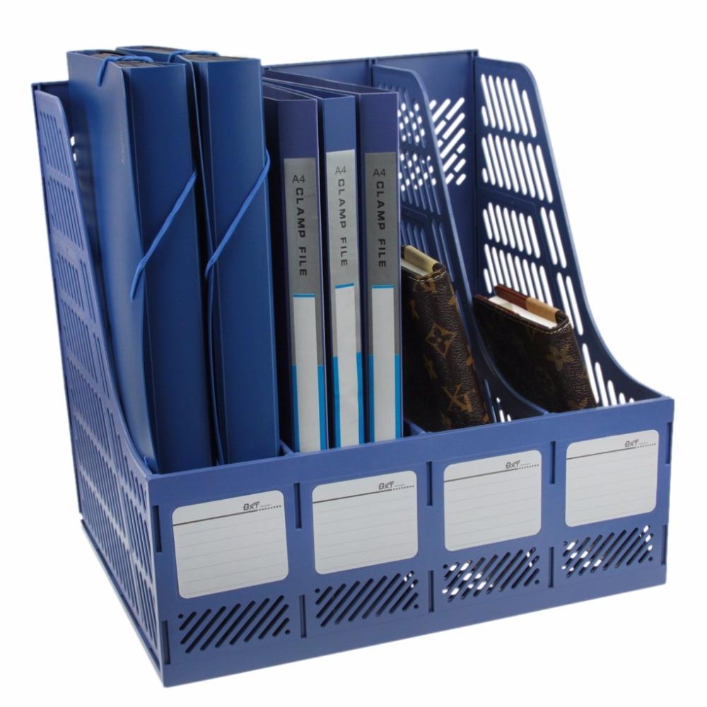 Office School Desktop File Folder Organizer Plastic
