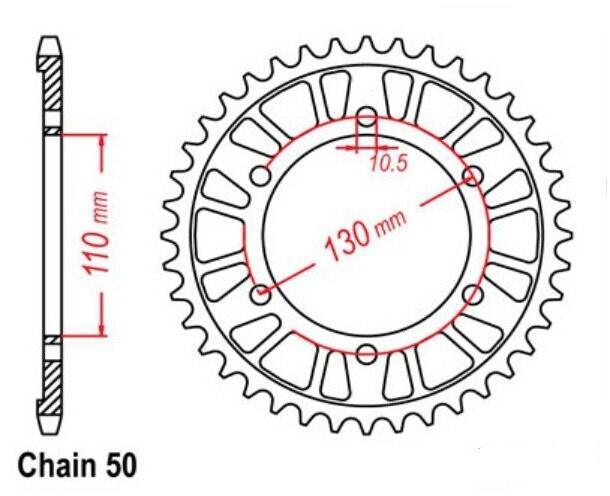 Υψηλής ποιότητας πίσω τροχίσκους LOPOR - Εξαρτήματα και ανταλλακτικά μοτοσικλετών - Φωτογραφία 2