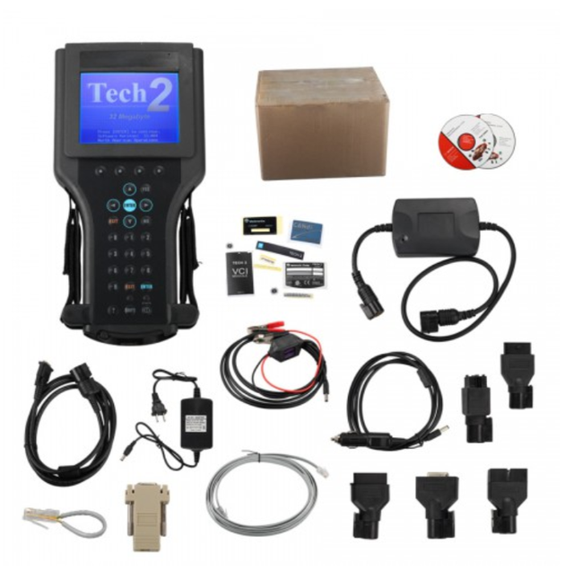 Best Price Tech2 Diagnostic Scanner For G M/SA AB/OP EL/S UZUKI/ISU ZU/Holde n with TIS2000 Software Full Package in Carton Box