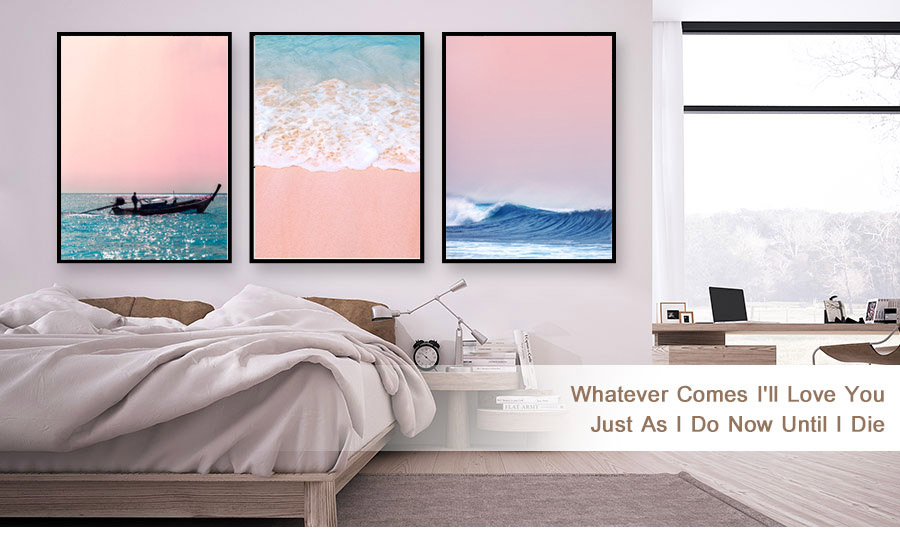 HTB1ojtvevWG3KVjSZFgq6zTspXaR Canvas Painting Beach Ship Sea Wall Art Nordic Posters And Prints Pineapple Home Decoration Pictures For Living Room