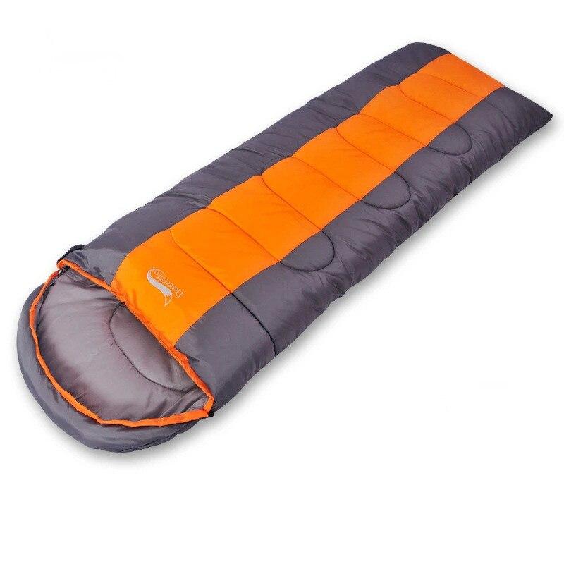 Hot selling camping trip envelope type ultra light Adult sleeping bag spring and autumn season цена