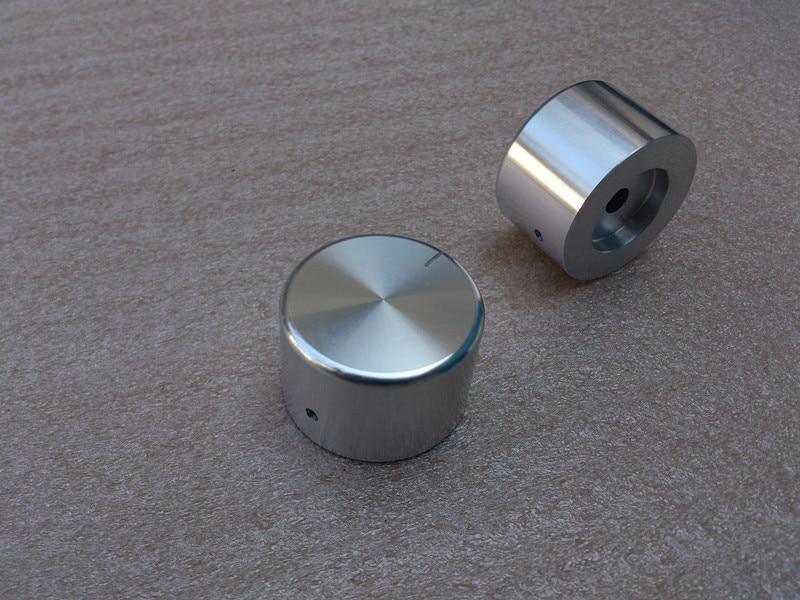 1pcs 35mm*22mm Knob Aluminum Solid Knob Volume Potentiometer Knob HIFI Audio Amplifier Knob