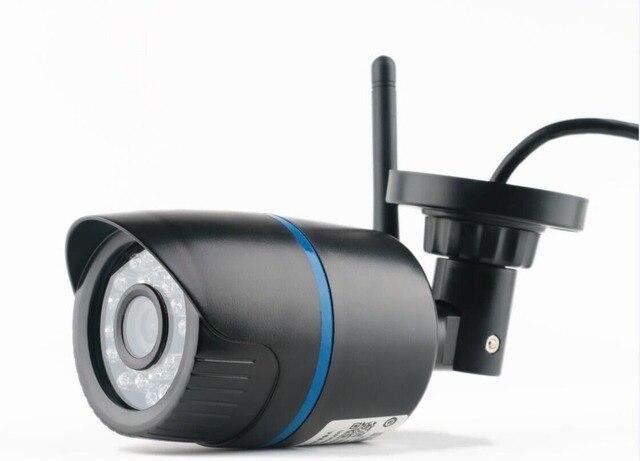 2.0mp 1080p Bullet Ip Camera Wifi Wireless Surveillance Motion Detect Outdoor Waterproof Black Plastic Webcam Freeshipping Hot