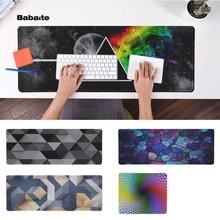 Babaite Simple Design Prismatic Durable Rubber Mouse Mat Pad PC Computer Gaming mousepad