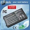 Bateria do portátil para asus f8 f80 f80h f80a f80q f80l f81 f83 f50 N80 N81 X61 X61W X61S X61GX X61SL X61Z X80 X82 X83 X85 X85C X85L