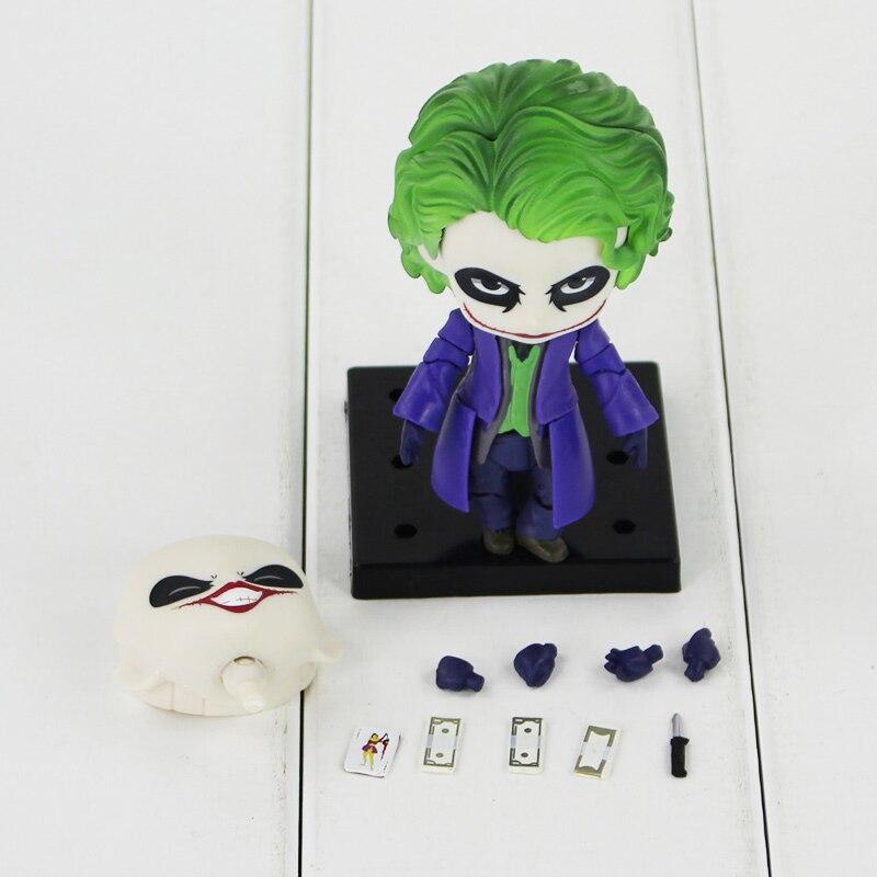 New Nendoroid #566 Joker Villain/'s Edition Batman Dark Knight Action Figure PVC