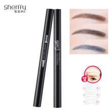 Eye Shadow Cake Brow Pencil Eyebrow Pomade Pen Wonderful Make Up Beauty Brush Wiz