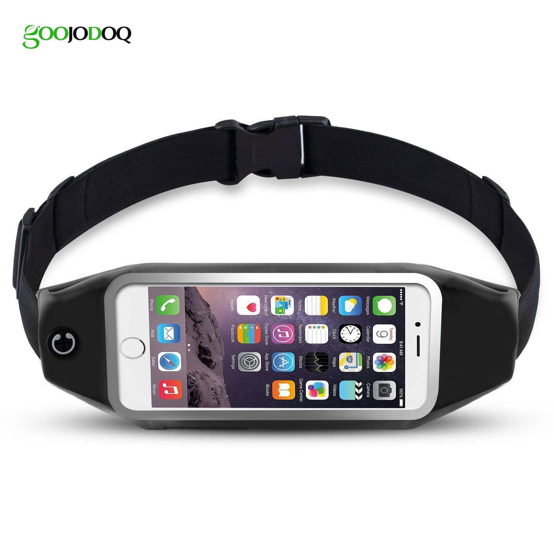 Universal 6 inch Waterproof Sport GYM Running Waist Belt Pack Phone Case Bag Armband for iPhone X 8 7 5 6 6s 7 Plus Samsung S7