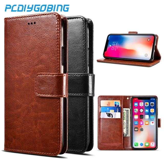 Luxury retro pu Leather Wallet Flip Cover Stand Case For Capa Para Leagoo Kiicaa Power Mix M5 M7 M9 M8 S8 Pro Z5 Z7