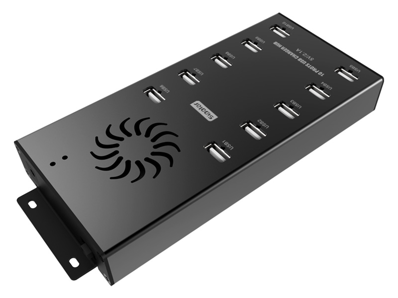 10 Port Universal USB Hub For Charging Tablets, iPads and Mobiles