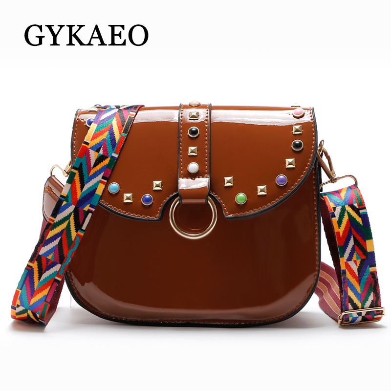 GYKAEO Brand Women Messenger Bags PU Leather Shoulder Bag Ladies Crossbody Small Bag Female Evening Day Clutches Bags Sac A Main 18 free ship 120kg hour 220v electric ce commercial meat grinder meat mincer stainless steel electric meat grinder machine