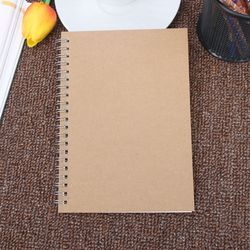 1PC Journal Notebook Diary Book Medium A5 Hardcover 90 Pages Dot Grid White School Office Supplies