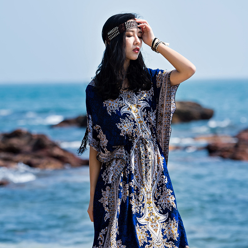 2017 Hot Sale Direct Selling Seaside Resort Of Thailand Beach Skirt Dress Brand Bohemia Folk Style Slit mayflower beach resort 3 гоа