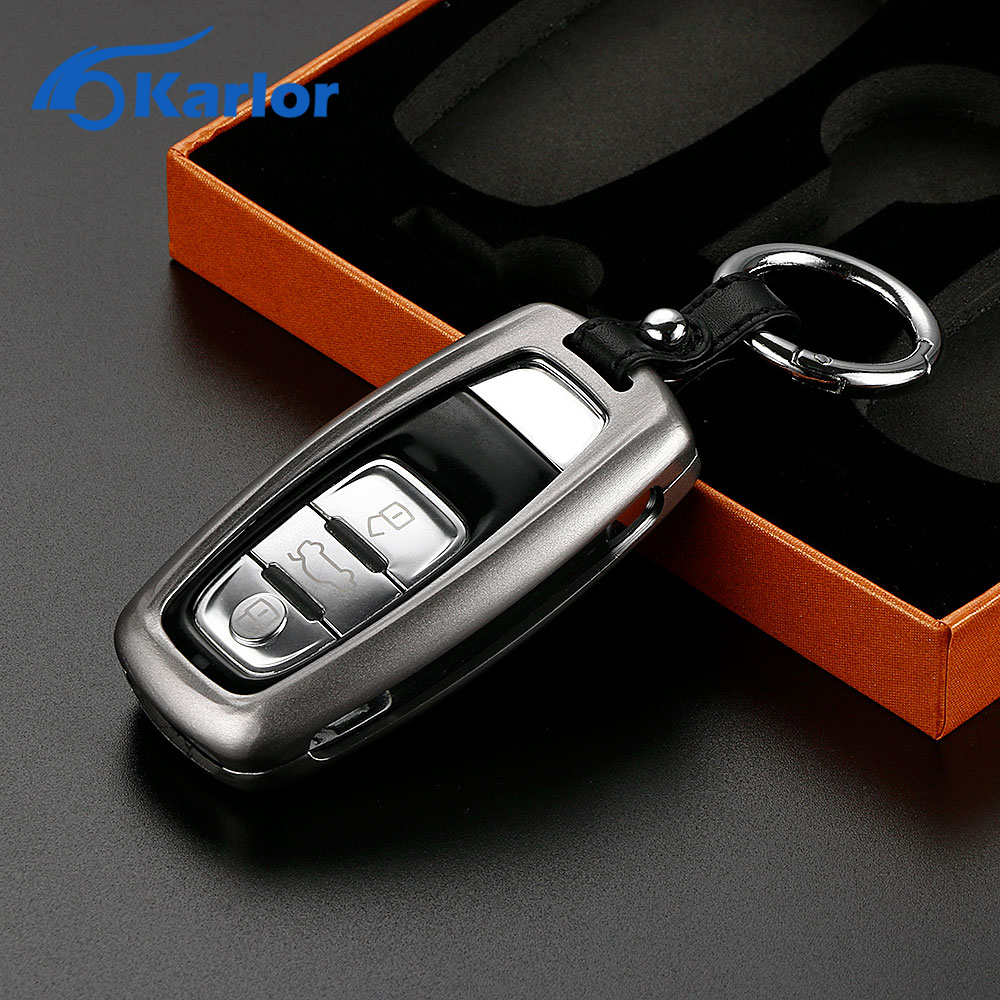 Aluminum Remote Car Key Cover Case Car Keychain Key Holder