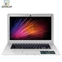 Zeuslap 14 inch 8 ГБ Оперативная память + 128 ГБ SSD + 1 ТБ HDD Windows 10 Системы 1920X1080P FHD Intel четырехъядерный ноутбук ультрабук ноутбук компьютер